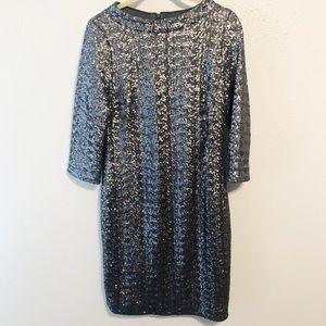 Boden vintage inspired sequined dress size 4